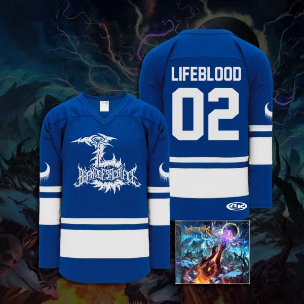Lifeblood Hockey Jersey w/ CD