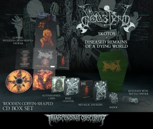 Skotos - Coffin Shaped Wooden CD Box Set