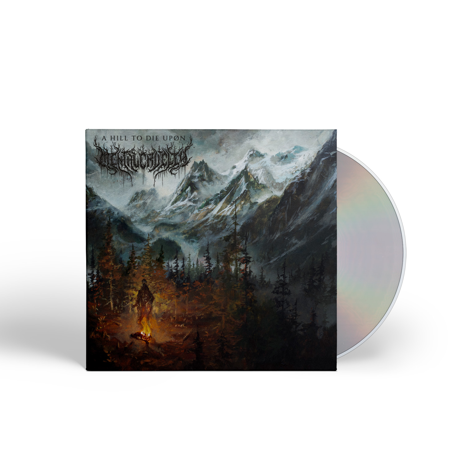 A Hill To Die Upon Deluxe CD + Longsleeve Bundle