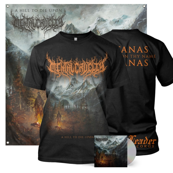 A Hill To Die Upon CD + Tee Bundle