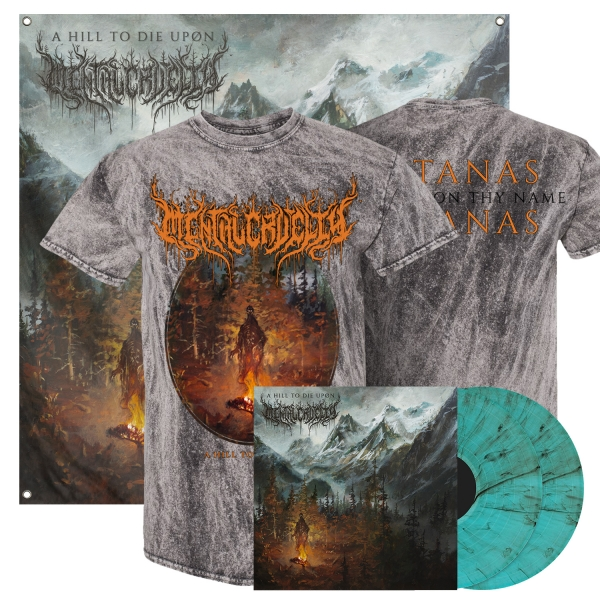 A Hill To Die Upon LP + Tee Bundle