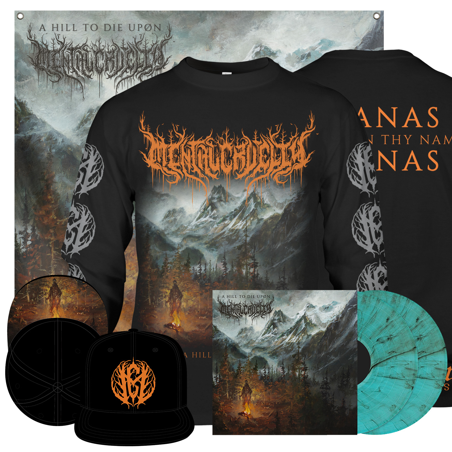 A Hill To Die Upon Deluxe LP + Longsleeve Bundle