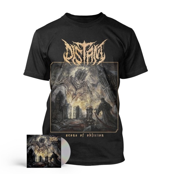 Aeons Of Oblivion CD + Tee Bundle