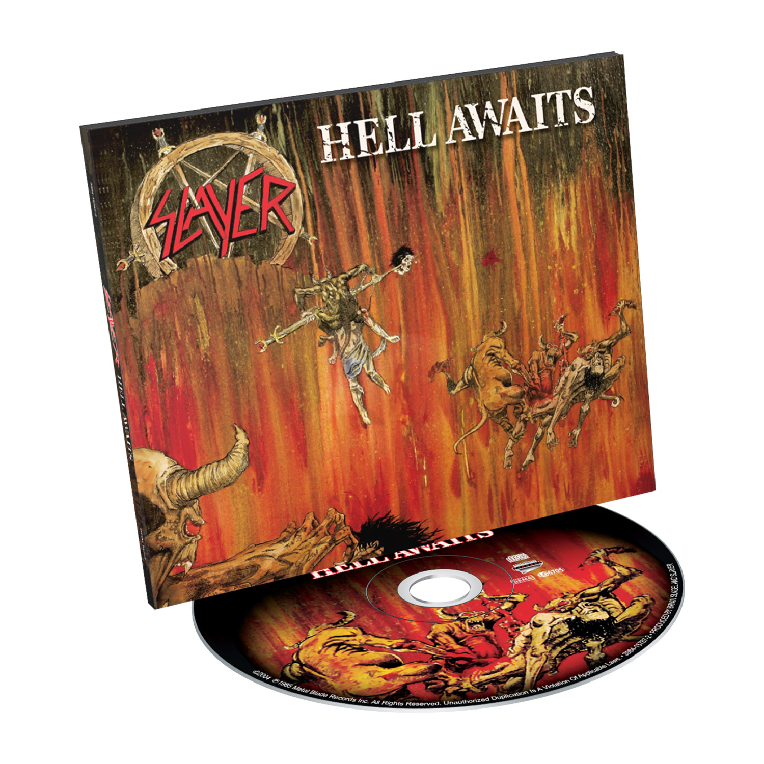 Hell Awaits (Digipak)