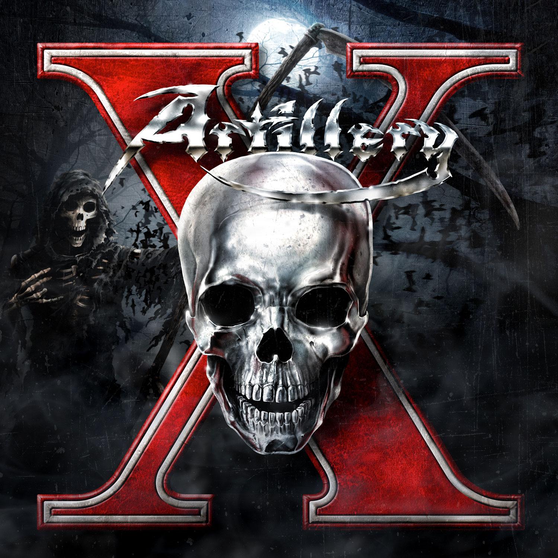 """Artillery """"X (Splatter Melt Vinyl)"""" 12"""" - Metal Blade Records"""