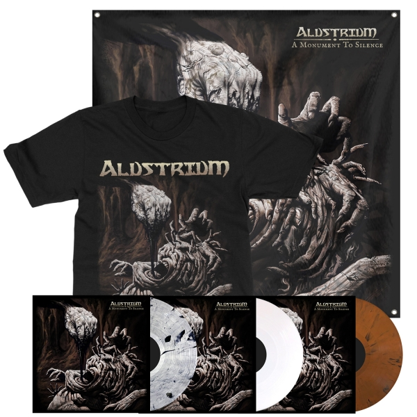 A Monument To Silence LP + Tee Bundle