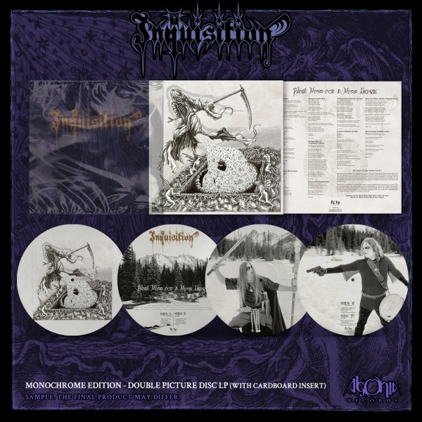 Black Mass For A Mass Grave (Monochrome edition, double picture LP)