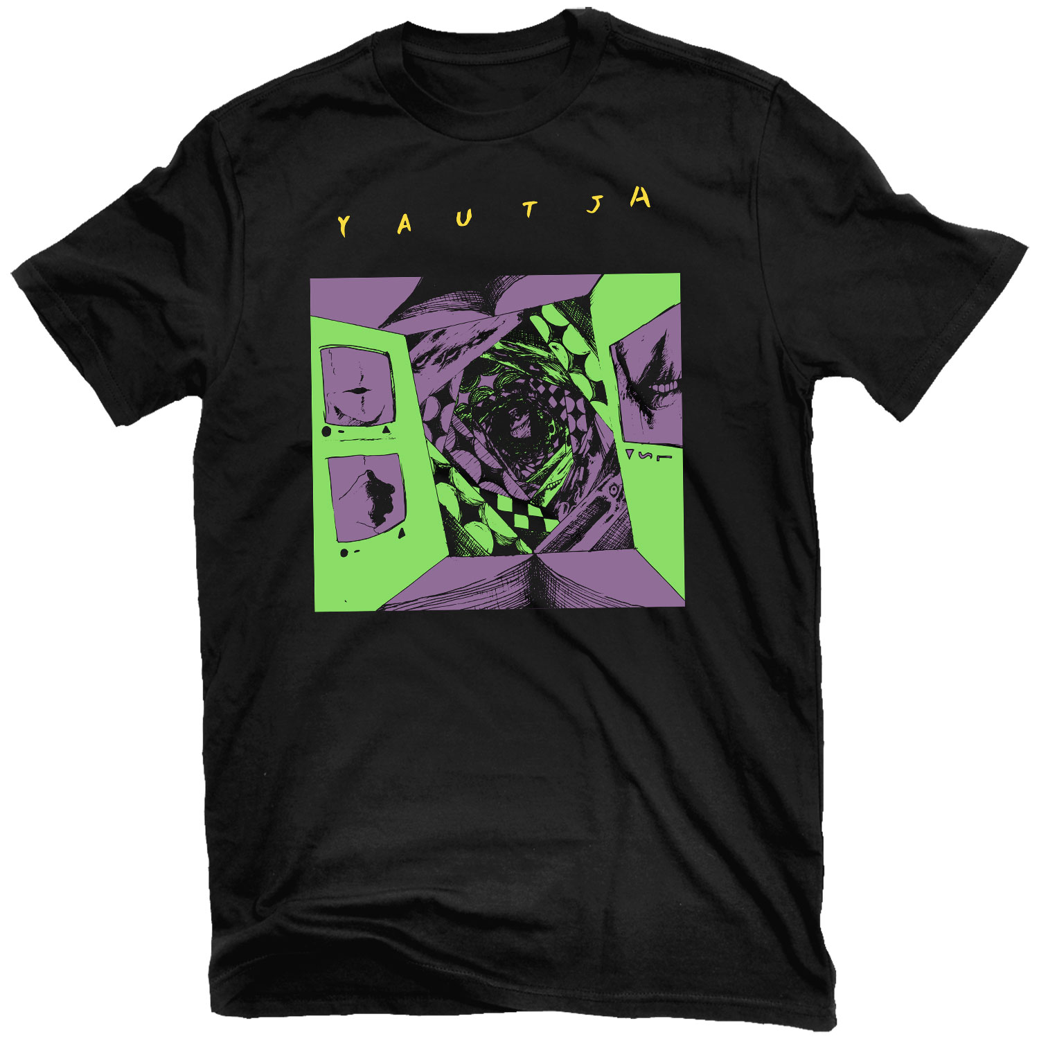 Wired Depths T Shirt + The Lurch CD Bundle