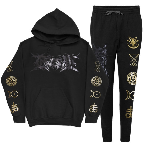 Symbols (Foil) Hoodie And Sweatpants Set