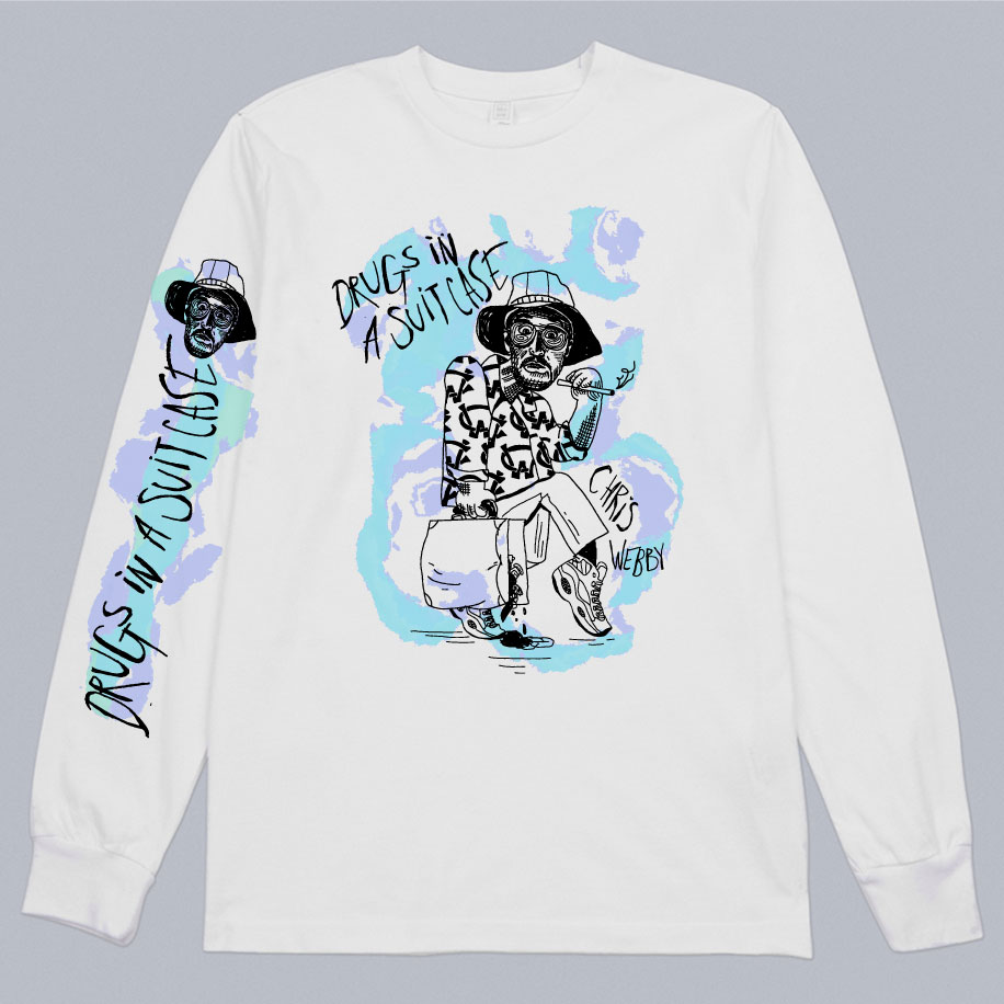 Drugs In A Suitcase Longsleeve T-shirt