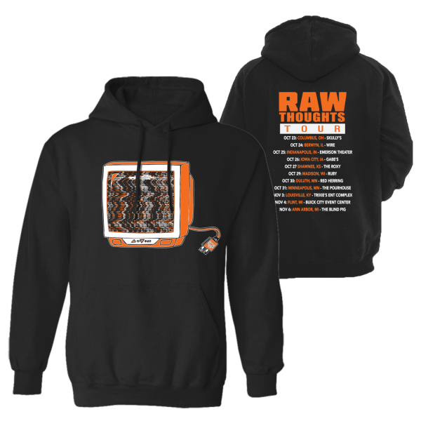 Raw Thoughts Tour Hoodie (Midwest)
