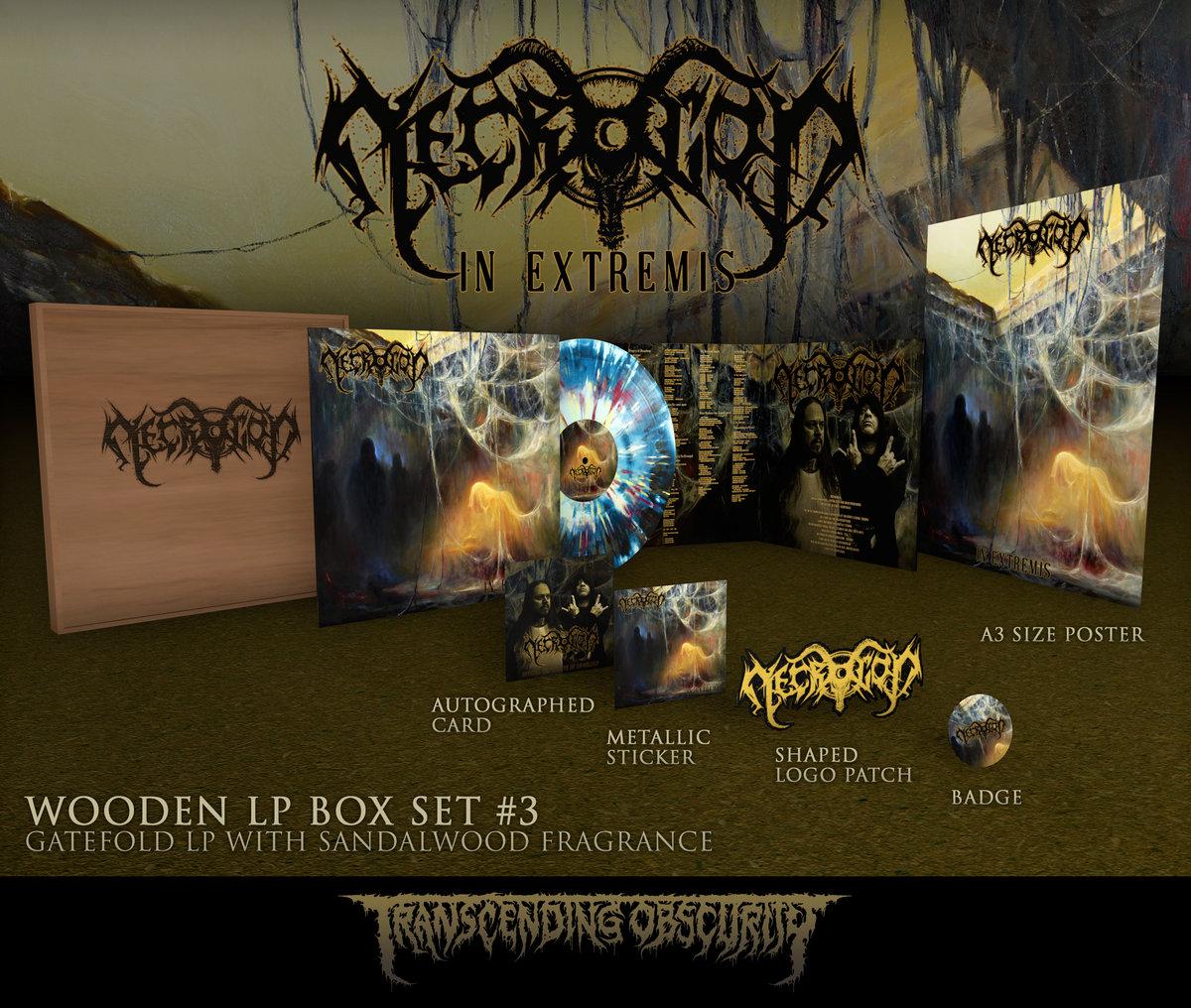 In Extremis Wooden LP Boxset
