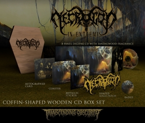 In Extremis Coffin-Shaped CD Boxset