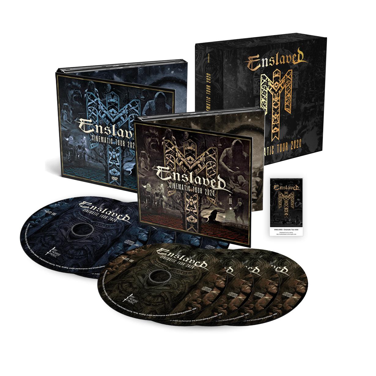 Cinematic Tour 2020 4x CDs + 4x DVDs (NTSC) Boxset