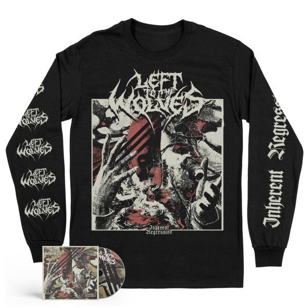 Inherent Regression CD + Longsleeve Bundle