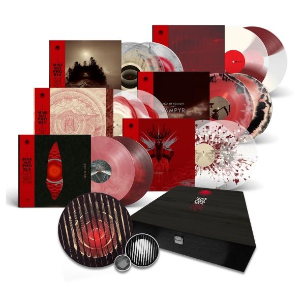"""Mnemophobia"" Wooden LP Boxset"