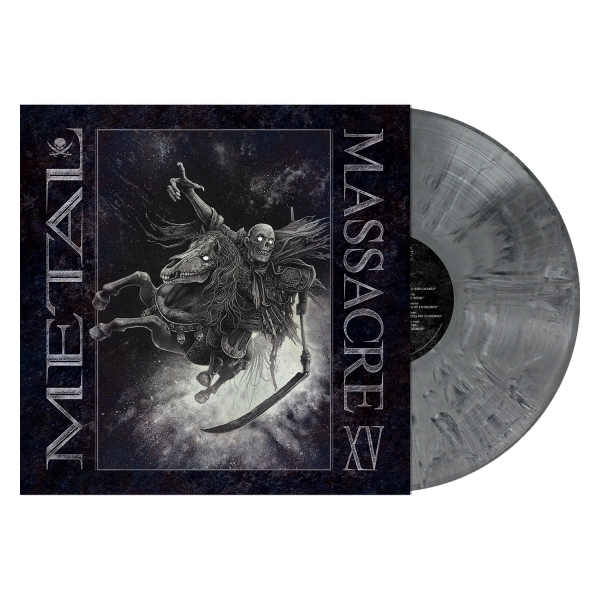 Metal Massacre XV (Gray Marbled Vinyl)