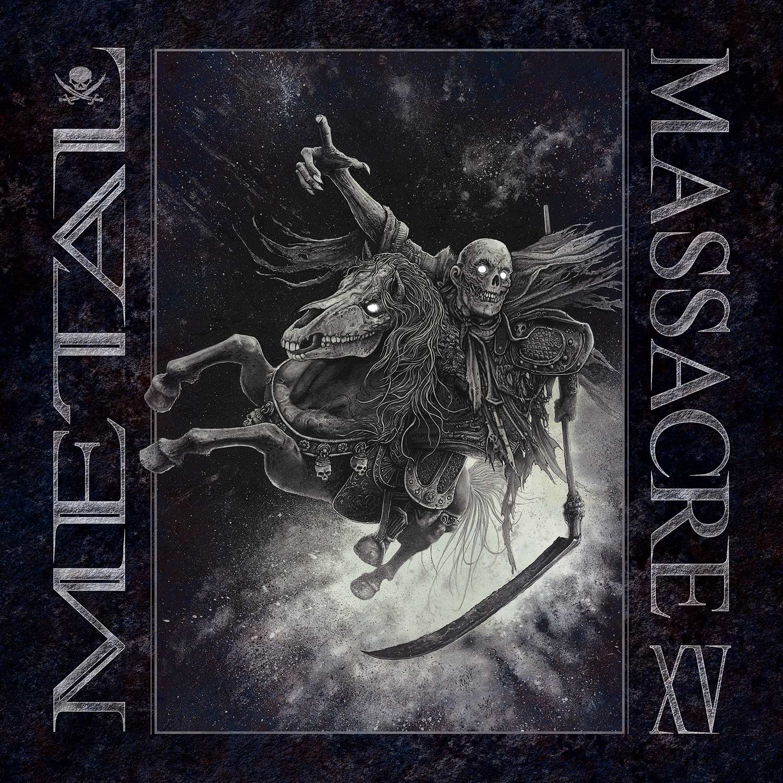 Metal Massacre XV (Gray Marbled Vinyl)