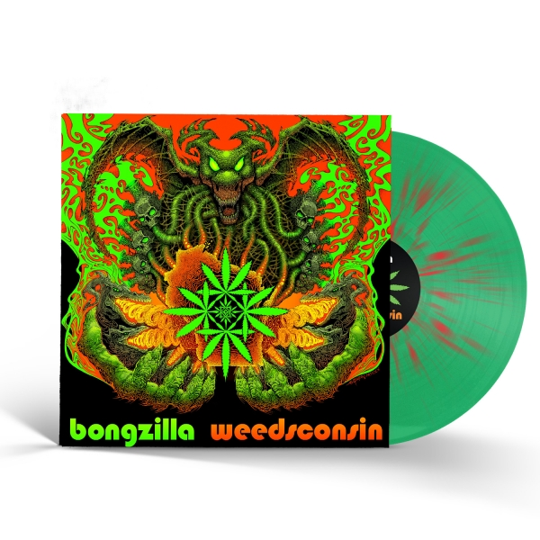 Weedsconsin (Green/Red Splatter)