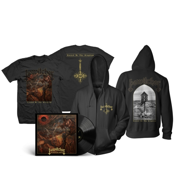 Cursed Be Thy Kingdom Tee/Hoodie/LP Bundle