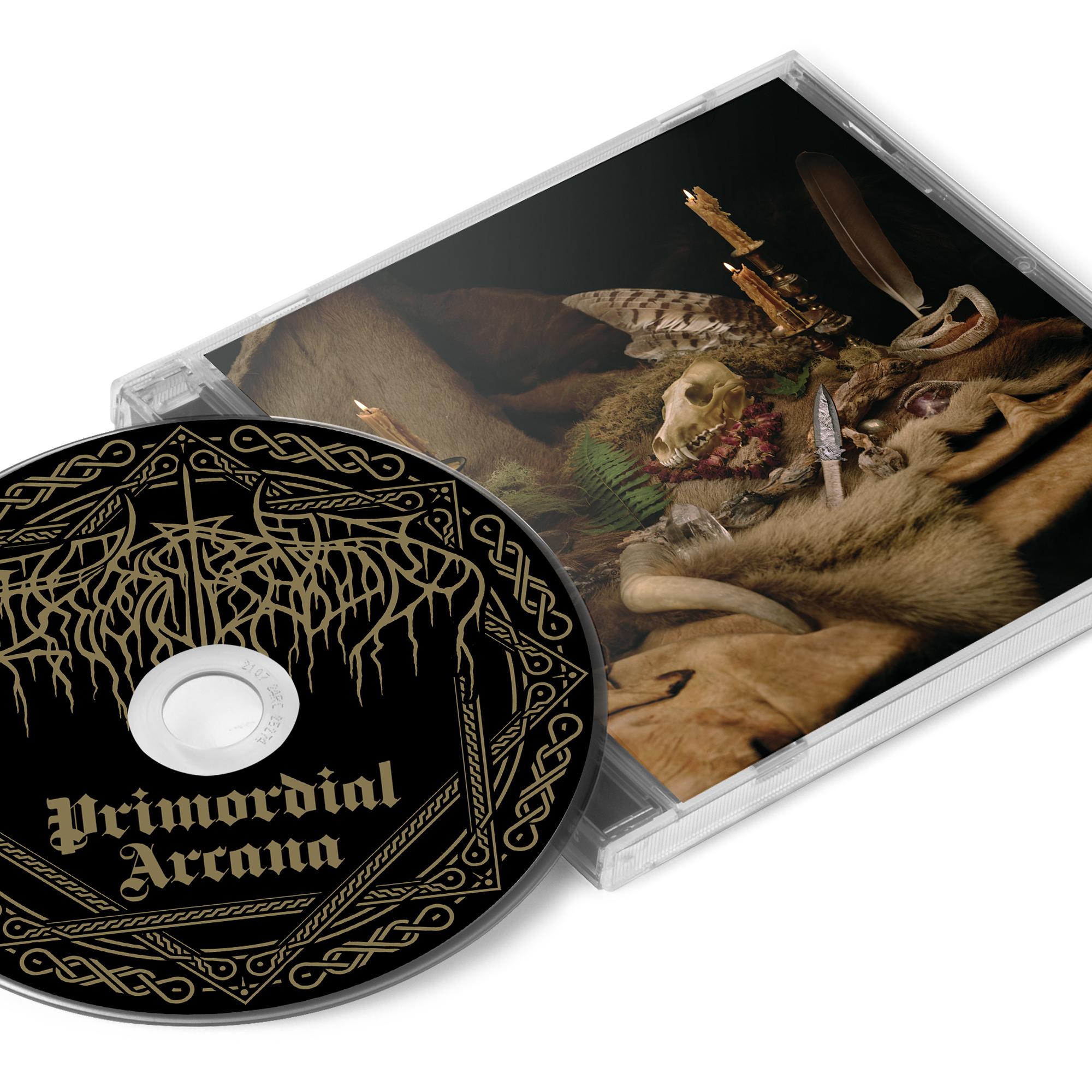 Primordial Arcana Zip Up Hoodie + CD Bundle