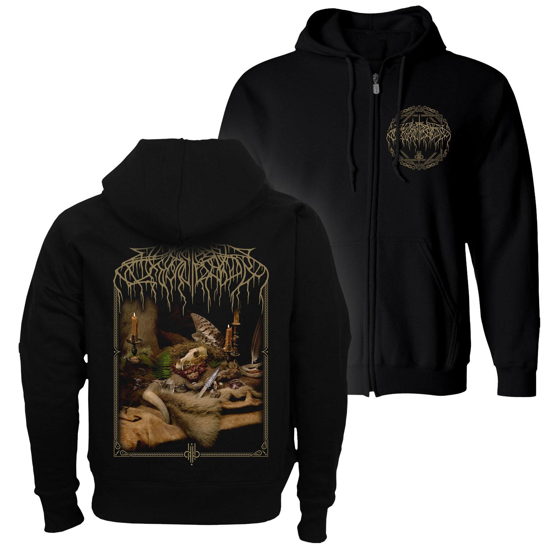 Primordial Arcana Zip Up Hoodie + Deluxe 2LP Bundle