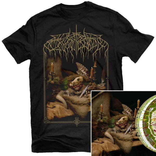 Primordial Arcana T Shirt + Deluxe 2LP Bundle