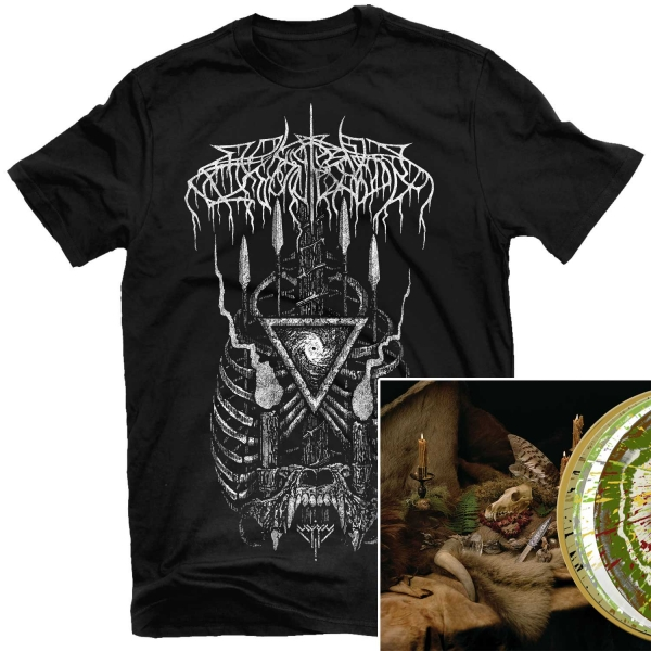 Primal Chasm T Shirt + Primordial Arcana Deluxe 2LP Bundle