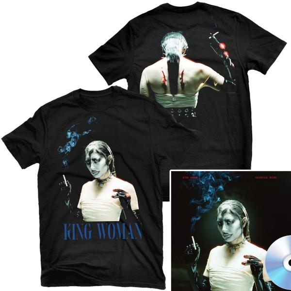 Celestial Blues T Shirt + CD Bundle